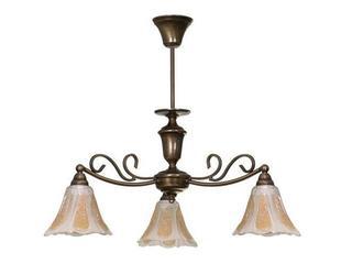 Lampa wisząca PATYNA VI 3xE14 40W 393E Aldex