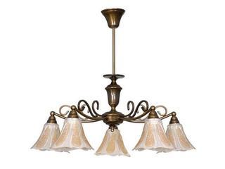 Lampa wisząca PATYNA VI 5xE14 393F Aldex
