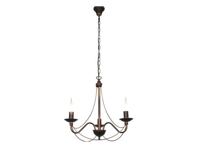 Lampa wisząca RÓŻA 3xE14 40W 397E Aldex
