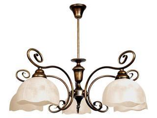 Lampa wisząca BRATEK 5xE27 60W 399F Aldex