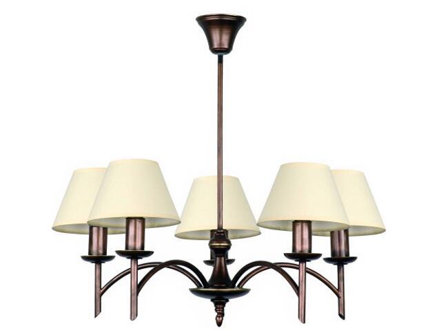 Lampa wisząca NIKE 5xE14 40W 431F Aldex