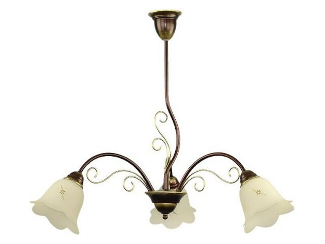Lampa wisząca MAJA 3xE27 60W 450E Aldex
