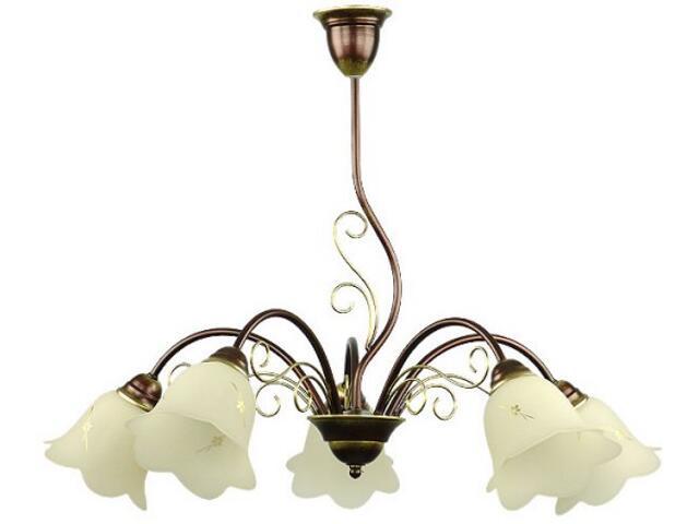 Lampa wisząca MAJA 5xE27 60W 450F Aldex