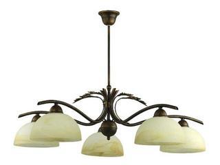 Lampa wisząca KORONA 5xE27 60W 457F Aldex