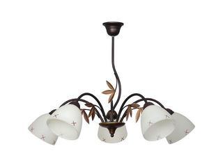 Lampa wisząca PALMA 5xE27 60W 466F Aldex