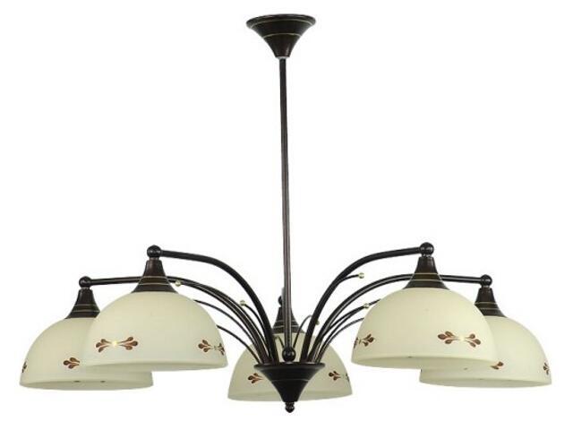 Lampa sufitowa VANESSA 5xE27 60W 455F Aldex