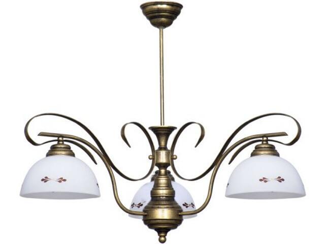 Lampa sufitowa PATYNA VII 3xE27 60W 492E Aldex