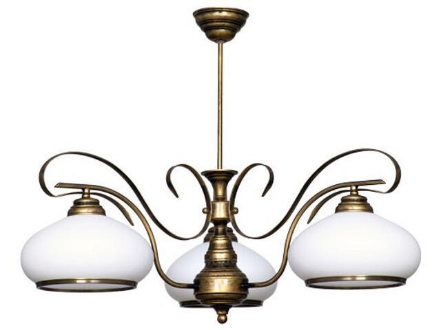 Lampa wisząca PATYNA VIII 3xE27 60W 493E Aldex