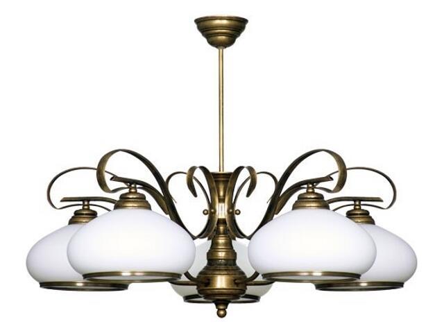 Lampa wisząca PATYNA VIII 5xE27 60W 493F Aldex