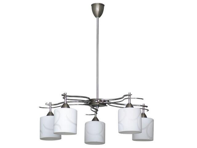 Lampa sufitowa DARIO 5xE14 40W 512F Aldex