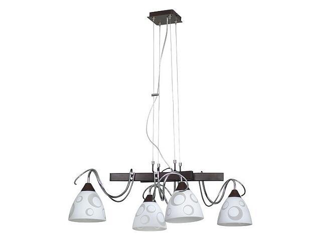 Lampa wisząca PAVONE 4xE27 60W 517L Aldex