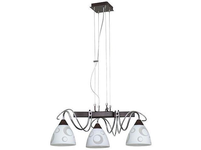 Lampa wisząca PAVONE 3xE27 60W 517E Aldex