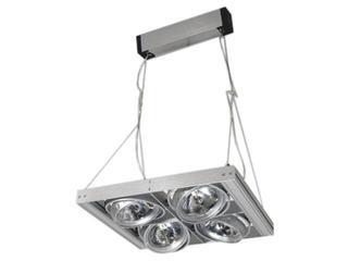 Lampa wisząca LAVADO 400H szara Brilum
