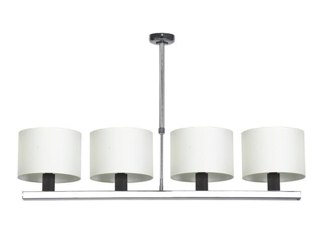 Lampa sufitowa Dubai1 4x40W E14 wenge Sanneli Design