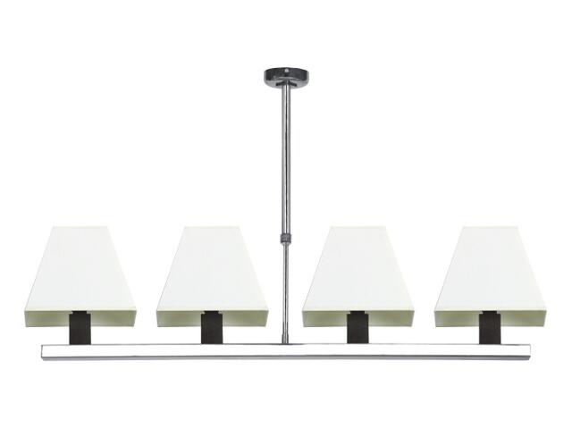 Lampa sufitowa Dubai2 4x40W E14 wenge Sanneli Design