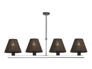 Lampa sufitowa Dubai3 4x40W E14 wenge Sanneli Design