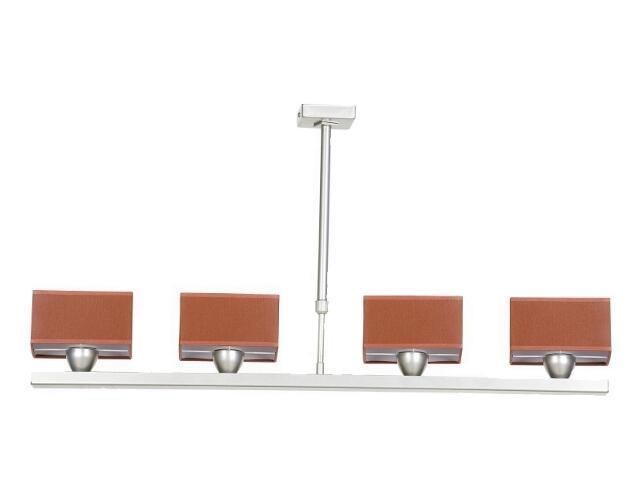 Lampa sufitowa Lima2 4x40W E14 satyna / czerwony Sanneli Design