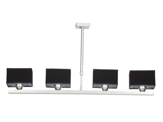 Lampa sufitowa Lima3 4x40W E14 satyna / czarny Sanneli Design