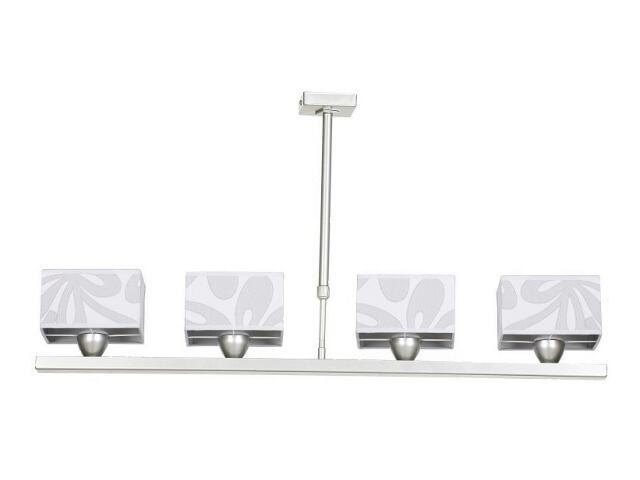 Lampa sufitowa Lima4 4x40W E14 satyna / szara Sanneli Design