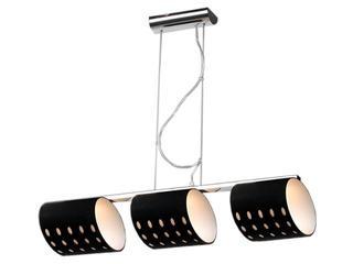 Lampa sufitowa Saragossa2 3x60W G9 czarna mat Sanneli Design