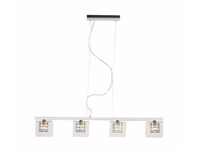 Lampa sufitowa Madryt4 4x40W G9 chrom Sanneli Design
