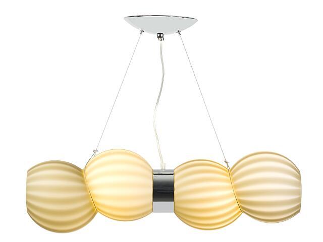 Lampa sufitowa Oviedo 2x24W E27 latte Sanneli Design