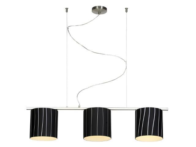 Lampa sufitowa Kadyks1 3x60W E27 nikiel Sanneli Design