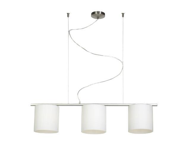 Lampa sufitowa Kadyks2 3x60W E27 nikiel Sanneli Design