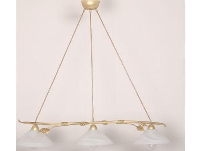 Lampa wisząca Wika złota 3xE27 01801 Sigma