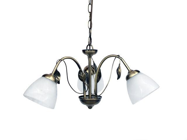 Lampa wisząca Zoja 3xE27 100W 306203-04 Reality