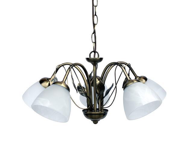 Lampa wisząca Zoja 5xE27 100W 306205-04 Reality