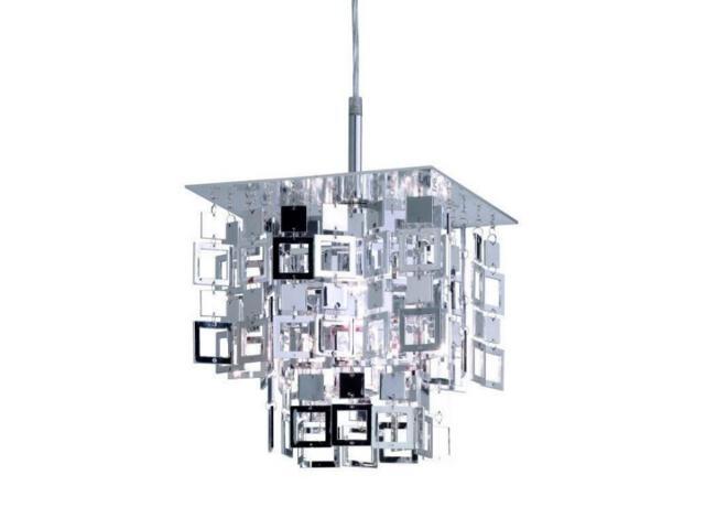 Lampa wisząca Quadrato 1xE27 60W 307001-06 Reality