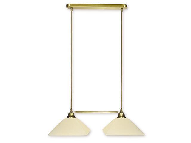 Lampa wisząca Kwadrat listwa patyna 009/W2 Lemir