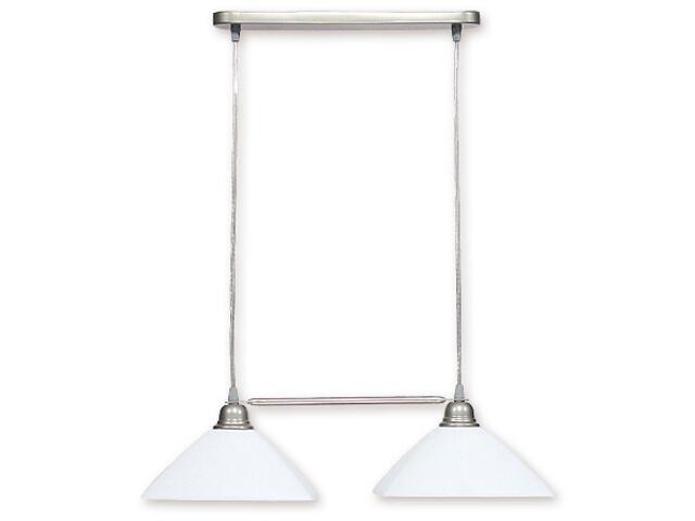 Lampa wisząca Kwadrat listwa satyna 009/W2 SAT Lemir