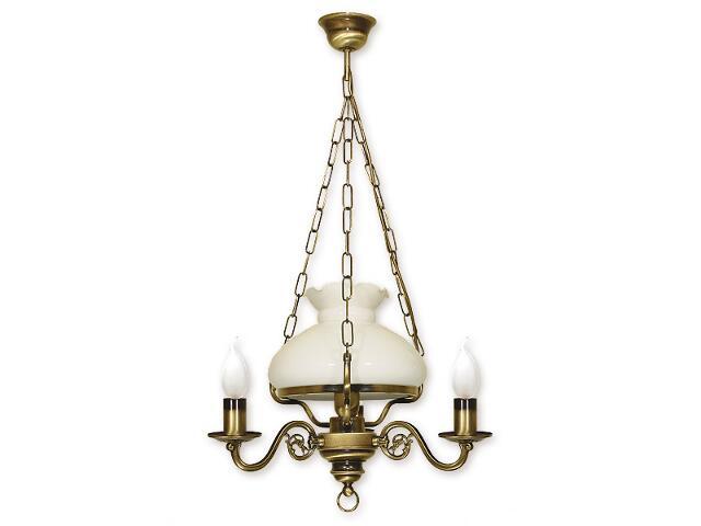 Lampa wisząca Alladyn 4-płomienna patyna 013/W4 Lemir