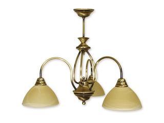 Lampa wisząca Alga 3-płomienna patyna 113/W3 PAT Lemir