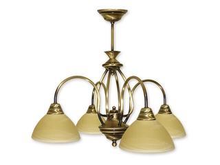 Lampa wisząca Alga 4-płomienna patyna 114/W4 PAT Lemir
