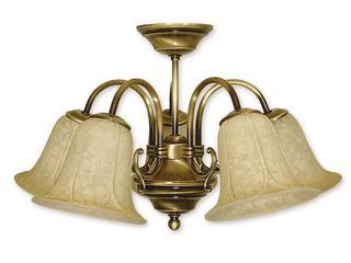 Lampa wisząca Mini 5-płomienna patyna 165/W5 Lemir