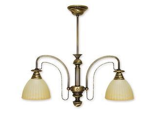 Lampa wisząca Żyrafa 2-płomienna patyna 212/W2 Lemir