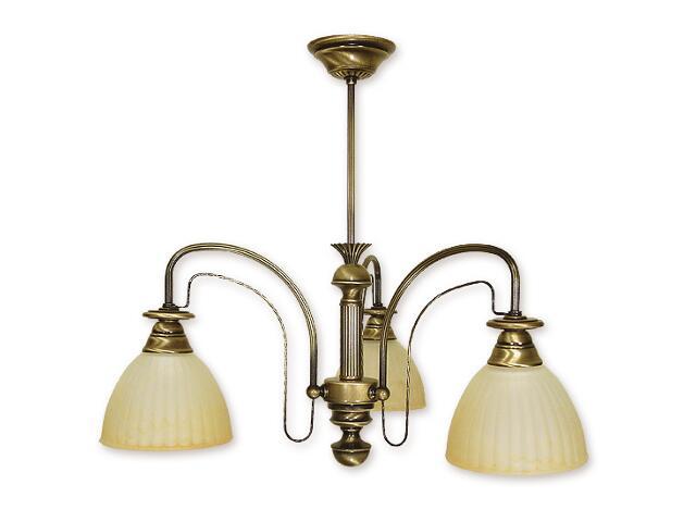 Lampa wisząca Żyrafa 3-płomienna patyna 213/W3 Lemir