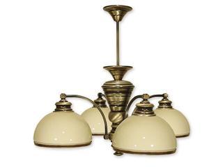 Lampa wisząca Olimp 4-płomienna patyna 264/W4 Lemir