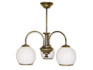 Lampa wisząca Rodos 3-płomienna patyna 283/W3 Lemir