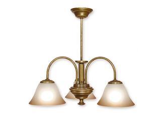 Lampa wisząca Lotos 3-płomienna patyna 283/W3 MAL Lemir