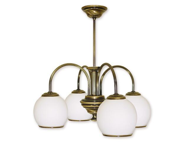 Lampa wisząca Rodos 4-płomienna patyna 284/W4 Lemir