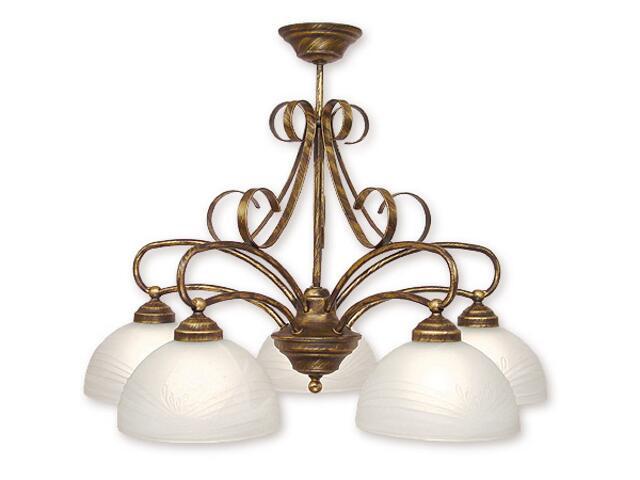 Lampa wisząca Libra 5-płomienna 295/W5 Lemir