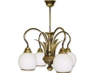 Lampa wisząca Karo 4-płomienna patyna 314/W4 Lemir
