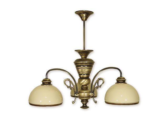 Lampa wisząca Delta 3-płomienna patyna 513/W3 Lemir