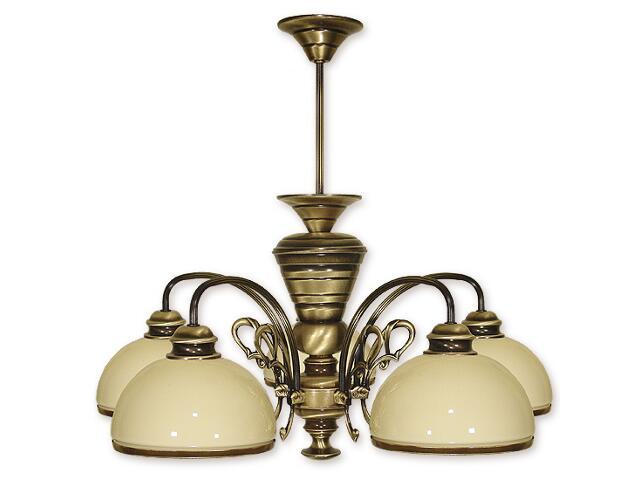 Lampa wisząca Delta 5-płomienna patyna 515/W5 Lemir