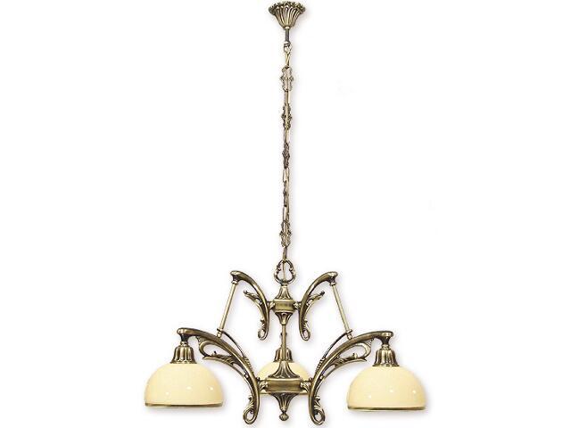 Lampa wisząca Vera 3-płomienna patyna 653/W3 Lemir