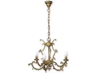 Lampa wisząca Miron 3-płomienna patyna 683/W3 Lemir